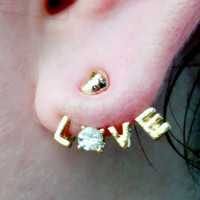 Love Wrap around Earrings