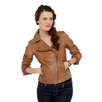 FOSSIL® Clothing Jackets & Outerwear:Clothing Lizzy Leather Jacket WC5225