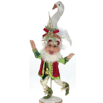 Mark Roberts 7 Swans A Swimming Elf - Small (15 Inches)