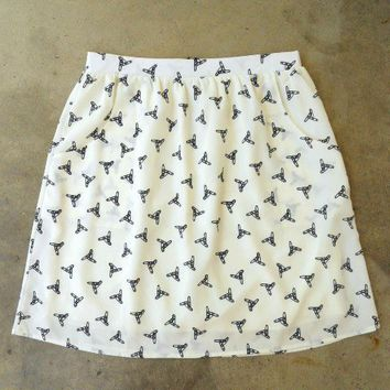 Feminine Punk Safety Pin Skirt [2260] - $27.00 : Vintage Inspired Clothing & Affordable Fall Frocks, deloom | Modern. Vintage. Crafted.