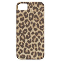 Leopard Print iPhone 5 Case from Zazzle.com