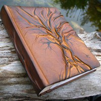 Photo album 10 x 7 1/2 with Tree for 200 photos by crearting