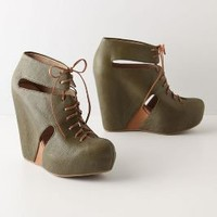 Kittatinny Booties - Anthropologie.com