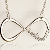 "One Direction, ""Directioner"" Infinity Necklace"