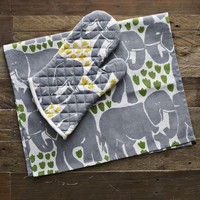 Elephant Tea Towel