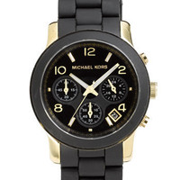 Michael Kors 'Black Catwalk' Chronograph Watch | Nordstrom