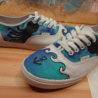 Nautical/Ocean Vans MADE TO ORDER