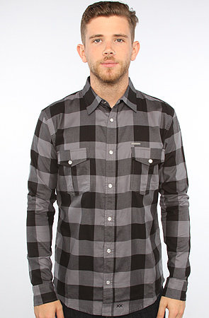GUYS WASTELAND PLAID BUTTON UP