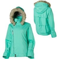 Oakley Women's Gretchen Bleiler Tiers Jacket - Teal XL: Amazon.com: Clothing