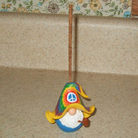 Miniature Gnome Incense Stick Holder