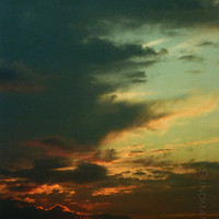 Sunset Photography, Sunset Sky Print, 8x10 Lustre Print, Sky Art, Sunset Clouds, Colored Sky