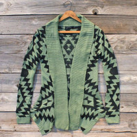Sagelands Sweater, Sweet Navajo Inspired Clothing