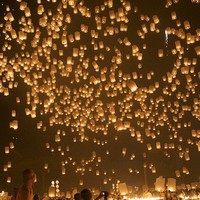 Favorite Places and Spaces / Loy Kratong (Floating Lantern) Festival in Chiang Mai, Thailand