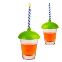 SHOT GLASS CANDLE HOLDER SET