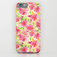 Tropical Dreams iPhone & iPod Case by Catherine Holcombe