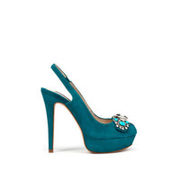 JEWELLED SLINGBACKS - Shoes - Collection - Woman - ZARA ZARA_XA
