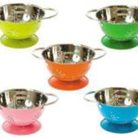 Mini Metal Colander 5 Assorted Colours | Tableware | Kitchen | £4.99 - The Contemporary Home Online Shop
