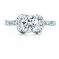 Tiffany & Co. | Engagement Rings | Round Brilliant Ribbon Ring | United States