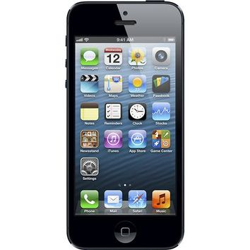Apple® - iPhone® 5 with 32GB Memory Mobile Phone - Black & Slate (AT&T)