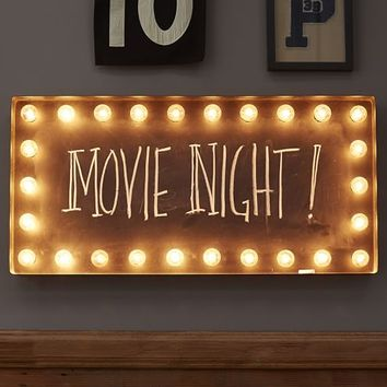 LIT WALL SIGN