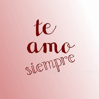 Te Amo printable, DIY Valentine's Day Card Spanish I love you forever red pink, instant download wedding decoration diy engagement card love