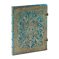 Antiquarian Azure Blank Book