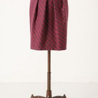 Shirr & Pleat Pencil Skirt - Anthropologie.com