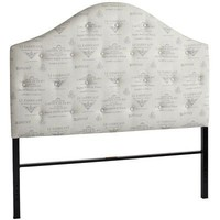 Frenchy Upholstered Headboard