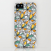 Floral Doodles iPhone Case by Beth Thompson | Society6