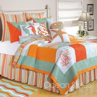 Fiesta Key Deluxe Bedding Set | OceanStyles.com