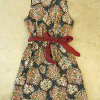 Strolling Azalea Garden Dress [3244] - $34.00 : Vintage Inspired Clothing & Affordable Fall Frocks, deloom | Modern. Vintage. Crafted.