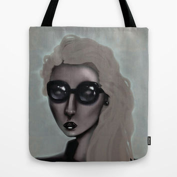 Shades with a Glow Tote Bag by Ben Geiger