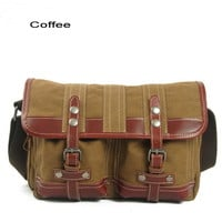 rugged canvas cross body bags for boys - $68.90 : Notlie handbags, Original design messenger bags and backpack etc
