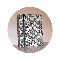 Damask fabric Photo Album - many colors available