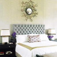 RE:Style Studio  French Tufted Headboard