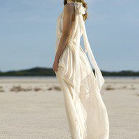 Katya Bride — SILK SUN GODDESS DRESS LONG