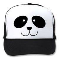 Panda Face Hat from Zazzle.com