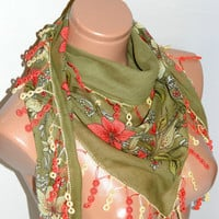 Summer 2012 trends, cotton fabric, scarves, Turkish scarf, scarfs, scarves, authentic, romantic