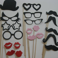 Photo Booth Party Props The Wild Cat by olivetreemonograms