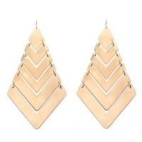 Layered Arrow Earrings: Charlotte Russe