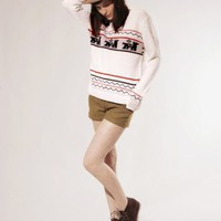 Belair V neck sweater