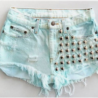 Vintage Apparel: Handmade denim shorts