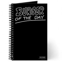 BOB'S BURGERS BURGER OF THE DAY JOURNAL