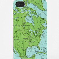 Fun Stuff Map iPhone 4/4S Case
