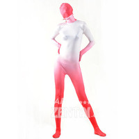 Halloween Full Body Fancy Dress Lycra Soft Zentai Suits White Orange Cosplay Costumes [L20120830] - £31.23 : Zentai, Sexy Lingerie, Zentai Suit, Chemise
