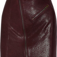 McQ Alexander McQueen | Leather mini skirt | NET-A-PORTER.COM