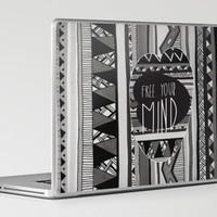 FREE YOUR MIND Laptop & iPad Skin by Vasare Nar | Society6