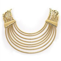 Belle Noel Tube Collar Necklace