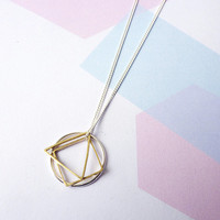 Symmetry Necklace by Custom Made