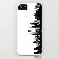 Philadelphia Skyline iPhone Case by Ink the Print | Society6